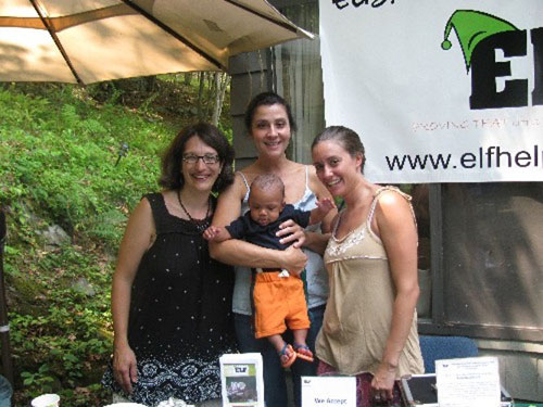 Left: Elise Rodriguez, Usborne Books Consultant